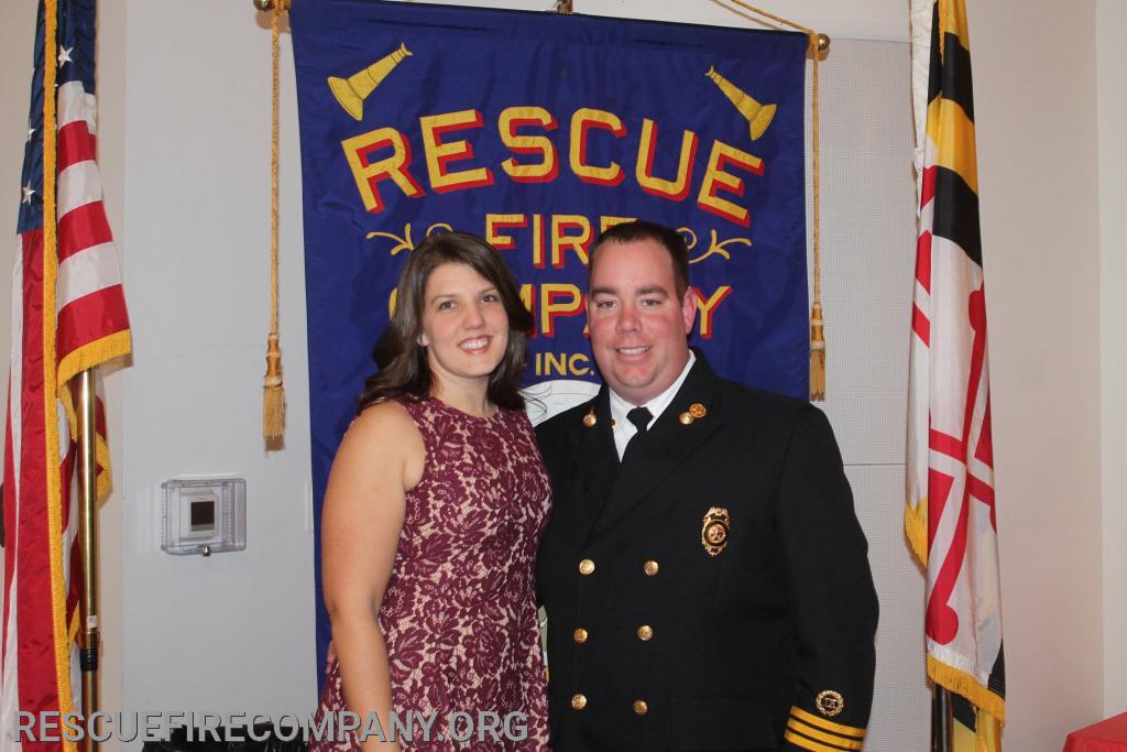 Meghan McCarter, 2nd Asst. Chief Ben McCarter