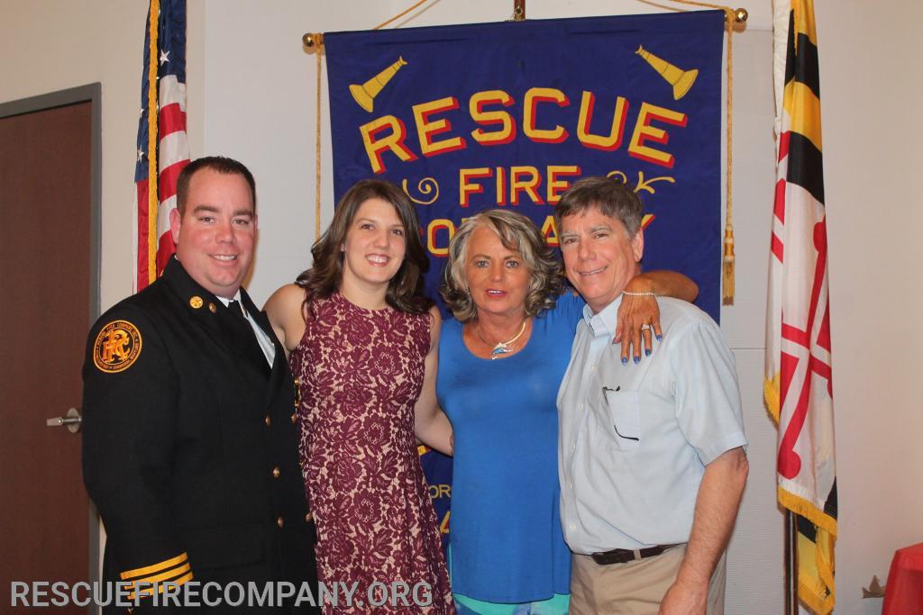 2nd Asst. Chief Ben McCarter & Family