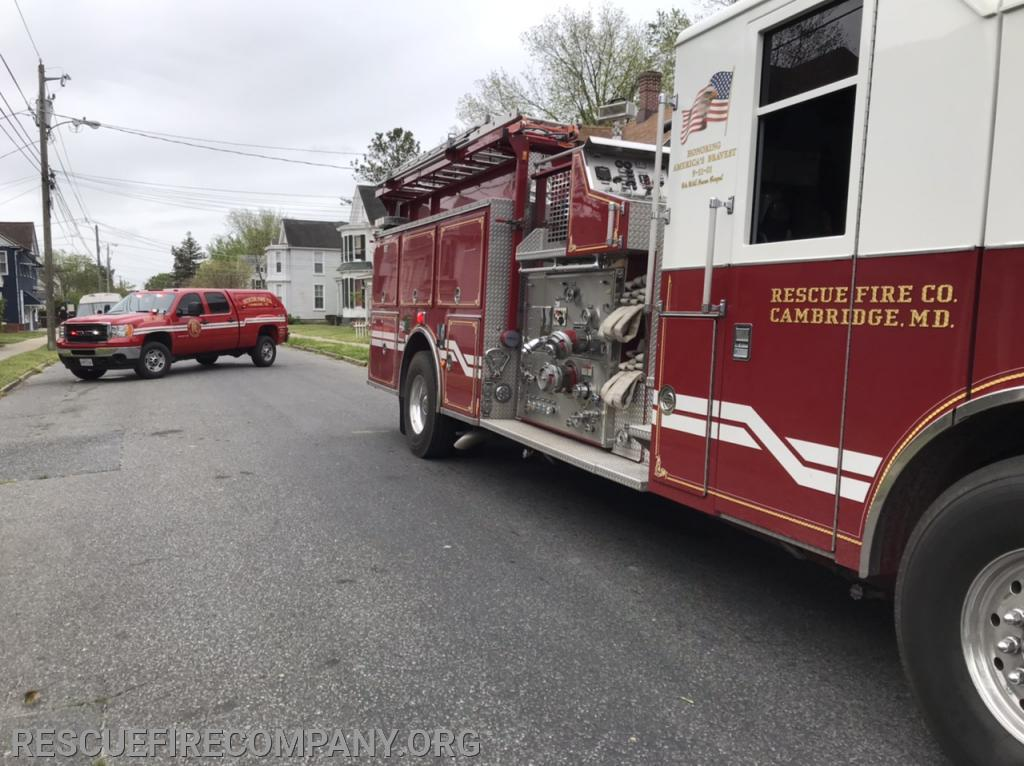 Chief 1-2 & Rescue Engine 1-1