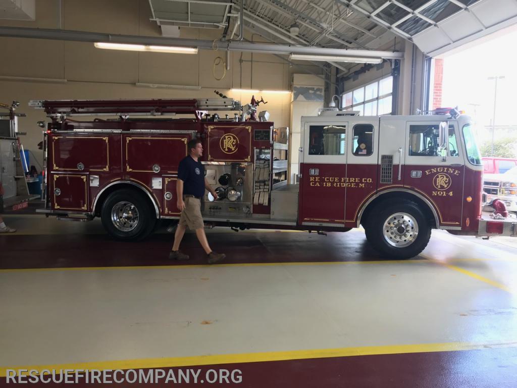 Fire Chief Adam Pritchett