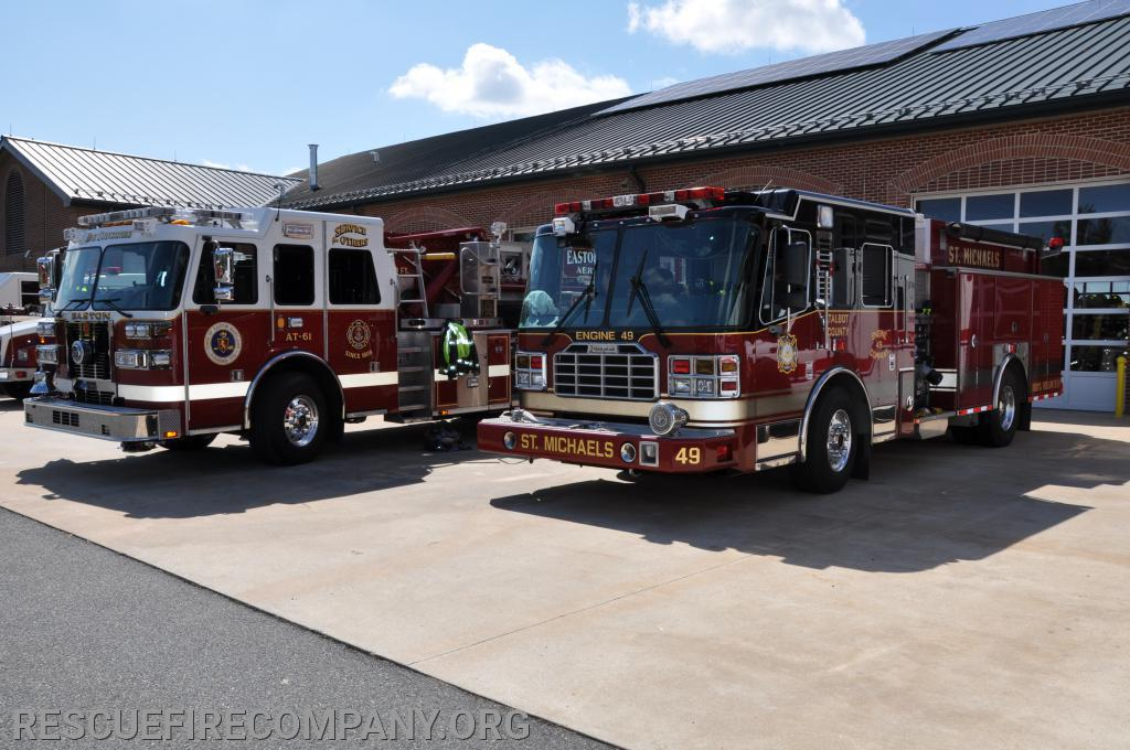 Standby Crews Talbot County Station 40 (St Michaels) Engine 49 & Talbot County Station 60 (Easton) Tower 61