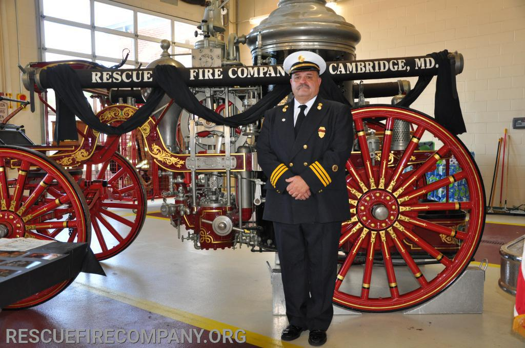 Rescue Fire Company Inc. Chaplain Gary Hickman