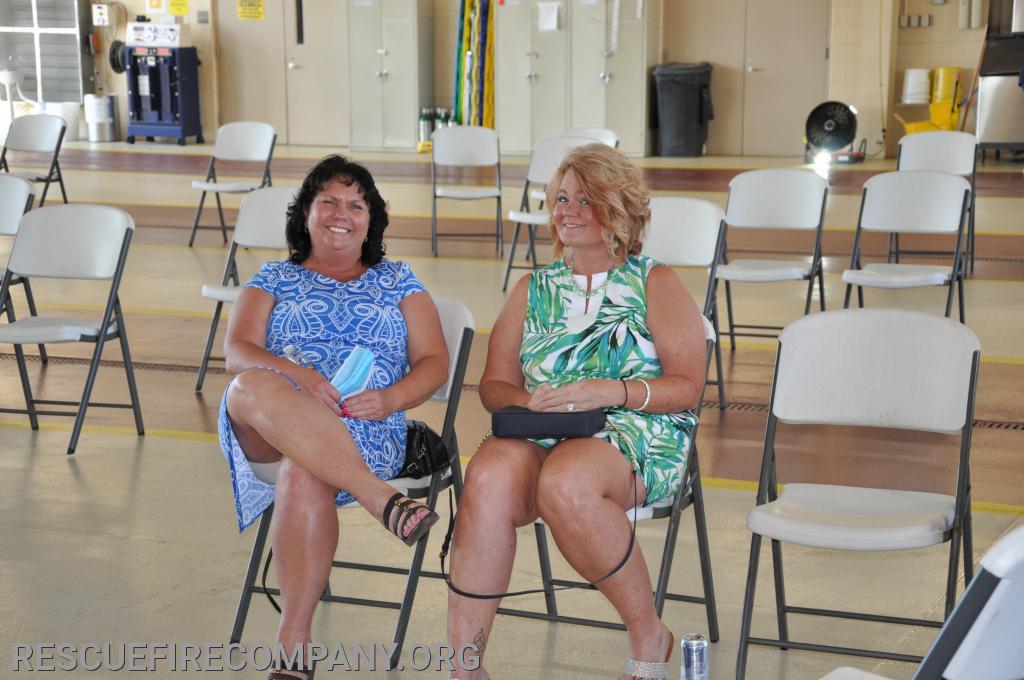Melissa Meredith & Lynn Darby