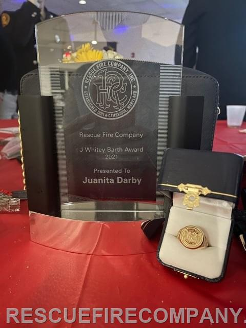 The J Whitey Barth Award & The Official RFC 10 year ring...