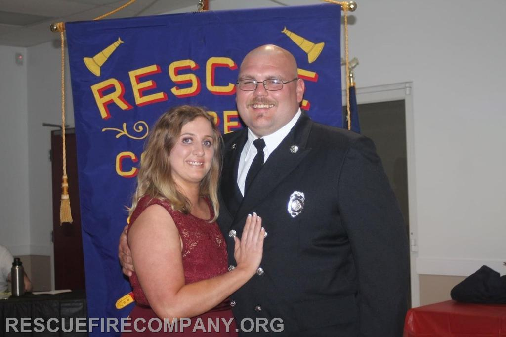 Steve Stack with wife Courtney Stack