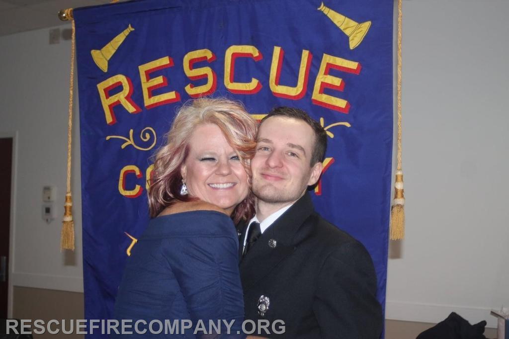 """Lynn Darby with stepson Gage """"Gweb"""" Weber"""