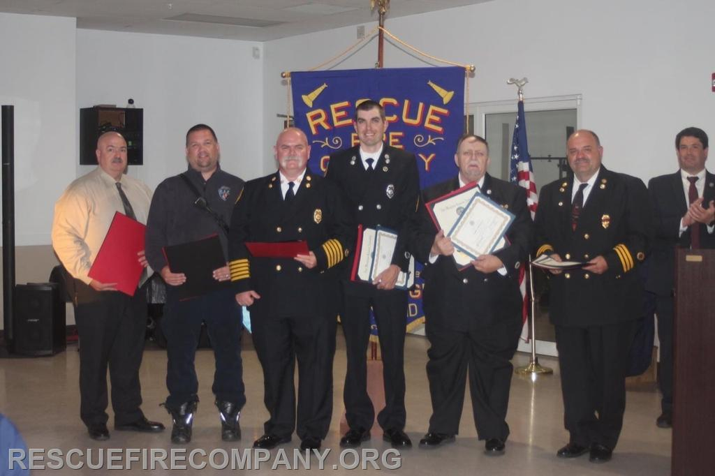 Service Awards  25 Years of Service  Jason Shorter Scott Redmer Brian Willey Ricky Travers Jr  30 Years of Service  Frank Horsman  35 Years of Service  Gary Hickman