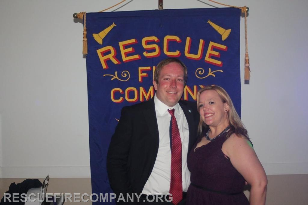 Mayor Andrew Bradshaw with girlfriend Natalee Tubman