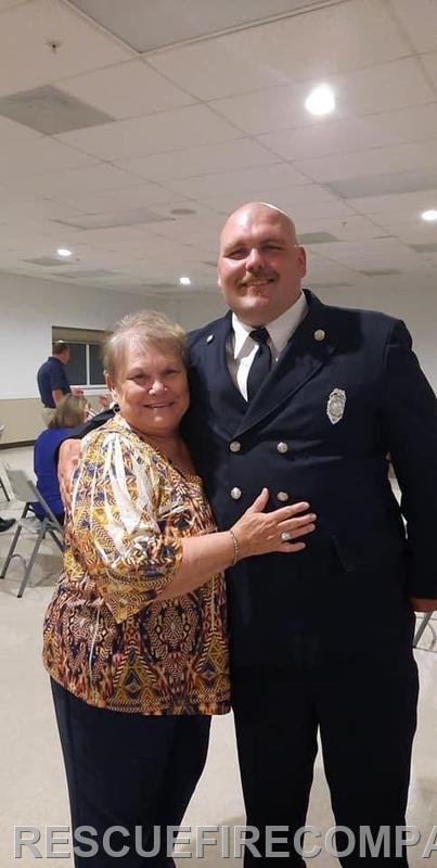 Karen Stack with grandson Stephen Stack