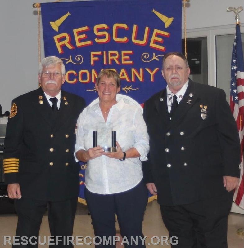 Juanita Darby received The J Whitey Barth Award