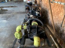 Diesel engine and pump